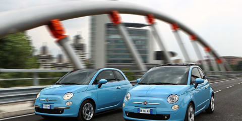 2010 Fiat 500 two-cylinder TwinAir unveiled, not for Australia