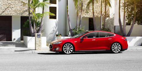 Tesla Model S update 6.2 adds Range Assurance, blind spot monitoring, automated braking