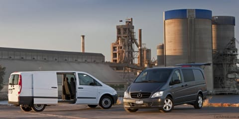 2011 Mercedes-Benz Vito range launched in Australia