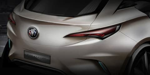 Buick Envision Concept to be unveiled 2011 Auto Shanghai