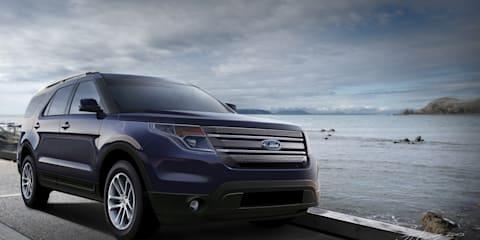 2011 Ford Explorer CGI Spy Photo
