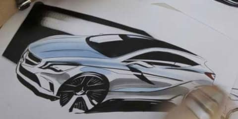 2012 Mercedes-Benz A-Class sketch leaked