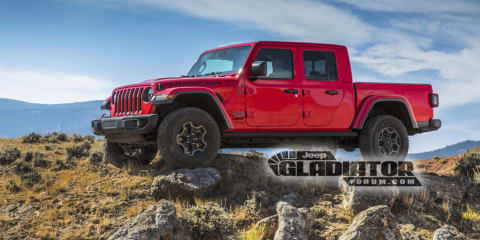 2020 Jeep Gladiator leaked