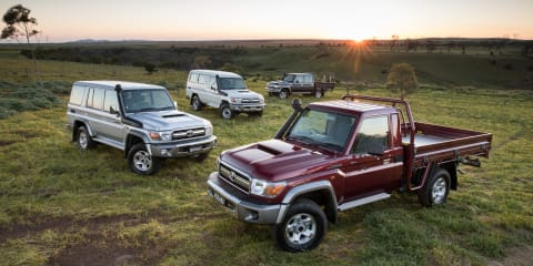 Toyota LandCruiser 70 Series recalled due to fire risk