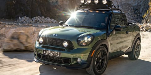 Mini Paceman Adventure ute revealed