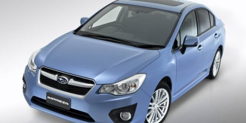 2012 Subaru Impreza at Australian International Motor Show 2011