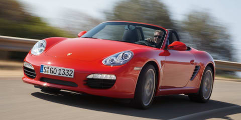 Porsche considers three-cylinder Boxster for 2012