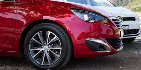 Small car comparison : Mazda 3 v Peugeot 308 v Volkswagen Golf