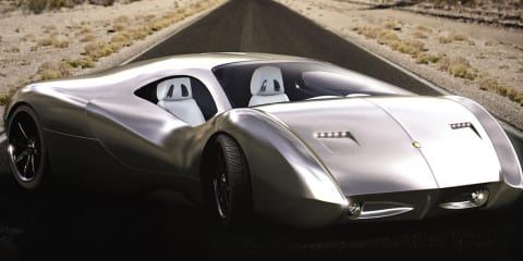 Lyons LM2 Streamliner hypercar concept finally arrives in New York