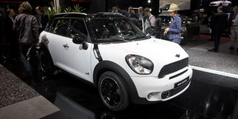 Mini Countryman finally revealed - Geneva 2010