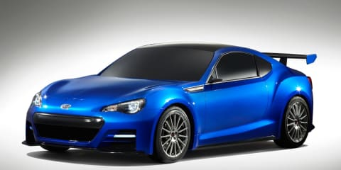 Subaru BRZ Concept-STI at Los Angeles Auto Show