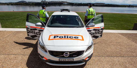 Volvo S60 T6 R-Design Polestar added to ACT Police fleet