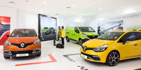Renault Australia opens store in Westfield shopping centre