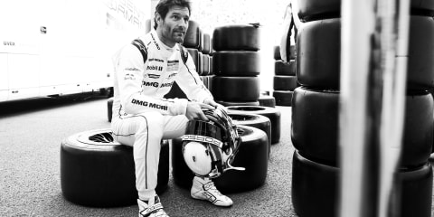 Mark Webber becomes a Michelin Man