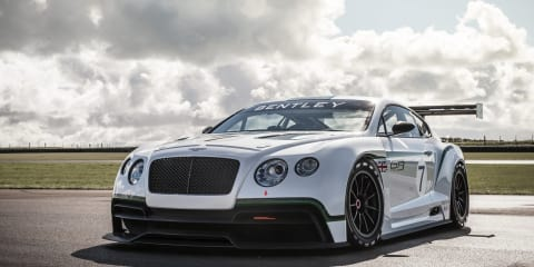 Bentley Continental GT3 concept: British marque set to race in 2013