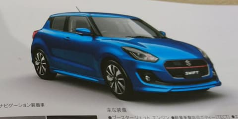 2017 Suzuki Swift design and details revealed via leaked Japanese brochure
