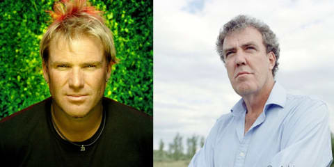 Top Gear Australia Shane Warne & Jeremy Clarkson on Nine