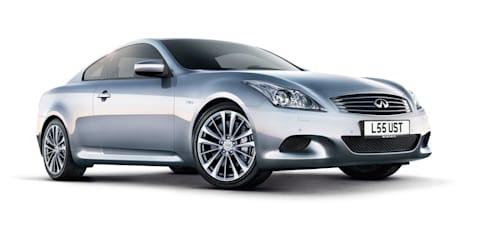 2011 Infiniti G series updated for Europe