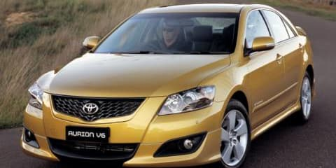 Are Ford and Holden really scared of the Toyota Aurion?