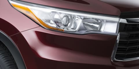 2014 Toyota Kluger: sharper third-gen SUV teased