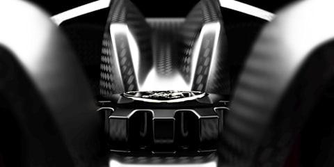 Lamborghini Paris Motor Show teaser number four