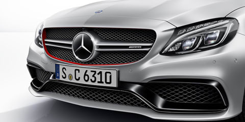 Mercedes-Benz C63 AMG variants revealed early on company website