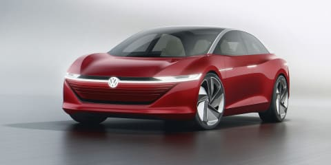Volkswagen I.D. Vizzion concept revealed