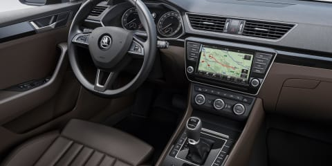 2016 Skoda Superb interior revealed