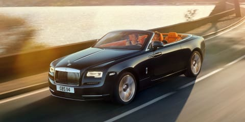 Rolls-Royce Dawn unveiled