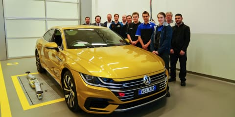Volkswagen apprentices preparing sub-4.0-second Arteon