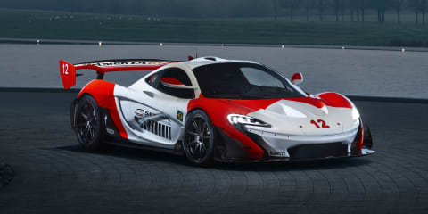 McLaren Special Operations P1 GTR celebrates Ayrton Senna