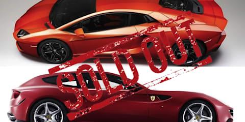 2011 Lamborghini Aventador LP700-4 and Ferrari FF sold out