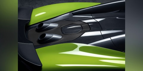 2019 McLaren 600LT Spider teased