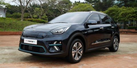 2018 Kia Niro EV revealed in Korea