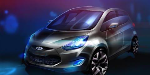 Hyundai ix20 MPV Paris motor show preview