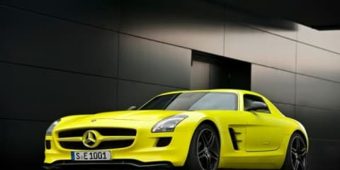 Mercedes-Benz SLS Gullwing AMG E-Cell Prototype