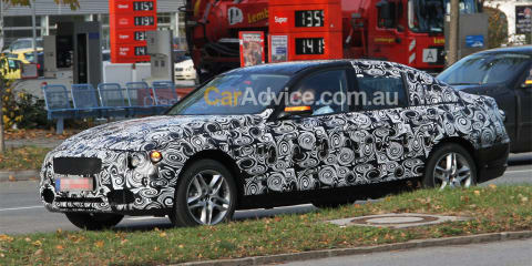 2011 BMW 3 Series spy photos