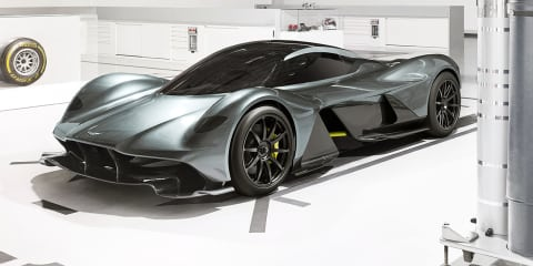 Hybrid power likely for Aston Martin AM-RB 001 hypercar