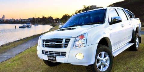 Isuzu D-MAX Ute Limited Edition