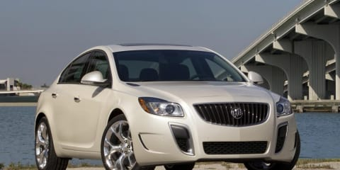 2012 Buick Regal GS unveiled in production form