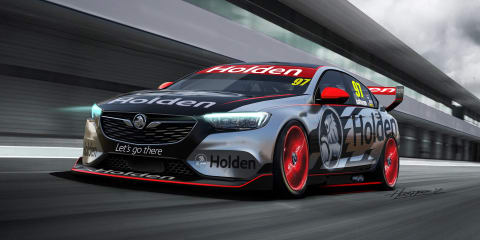2018 Holden Commodore racer revealed for Australian Supercars Championship