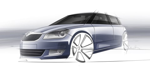 Skoda Fabia :: next-generation model details begin to firm