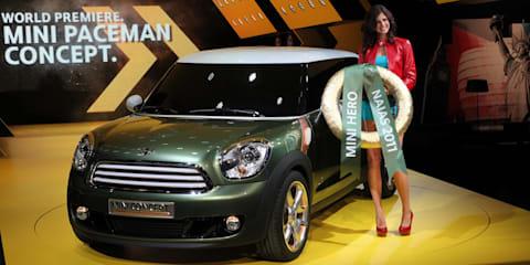 Mini Paceman Concept unveiled at Detroit Auto Show