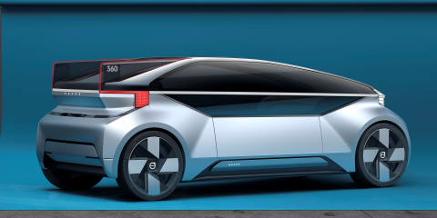 Volvo 360c concept unveiled