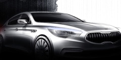 Kia reveals sketches of all-new flagship sedan