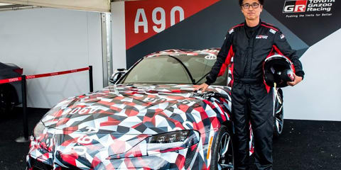 2019 Toyota Supra is as rigid as an LFA - Tetsuya Tada