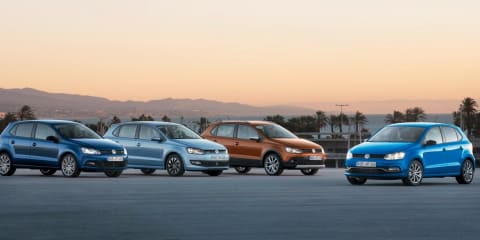 Volkswagen Polo : BlueMotion, BlueGT, CrossPolo variants revealed