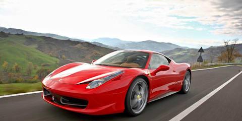 Ferrari 458 Italia recalled overseas due to fire incidents
