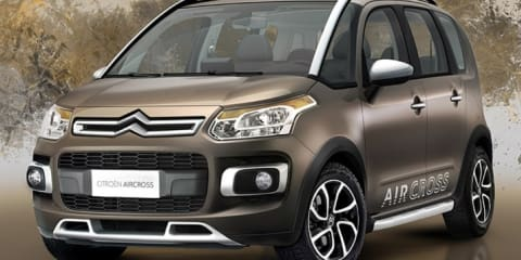 2010 Citroen AirCross for Brazil revealed on Twitter