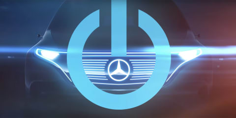 Mercedes-Benz electric SUV concept teased ahead of Paris debut